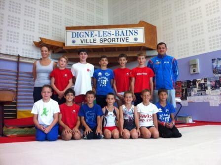 Campo di allenamento Digne les Bains artistica sito